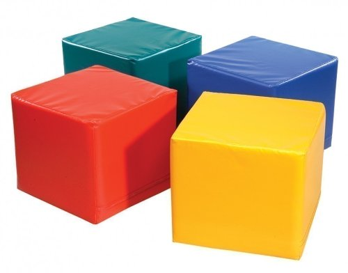 1-x-Pnz-Spiel-und-Sitzwrfel-grn-Kantenlnge-45-cm-Hhe-50-cm