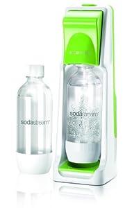 SodaStream Wassersprudler Cool (mit 1 x CO2-Zylinder 60L und 2 x 1L PET-Flaschen), grün