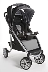 Safety 1st Aerolite Deluxe Stroller, Silver Leaf (Discontinued by Manufacturer)