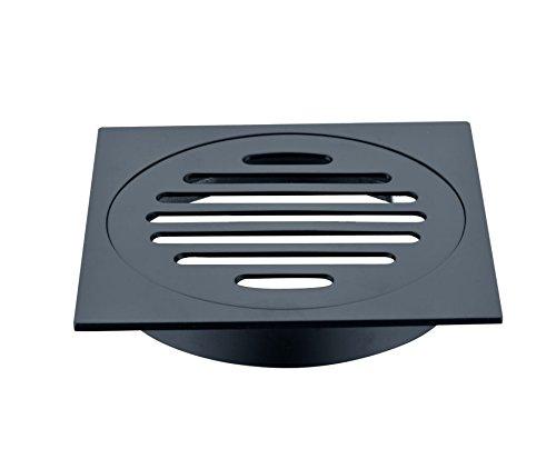 mjj-nouveau-laiton-noir-mat-4-pouce-carre-baignoire-douche-siphon-de-sol-eau-dechets-egouttoir-a-res