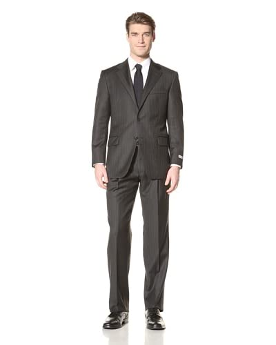 Hickey Freeman Men's Pinstripe Suit