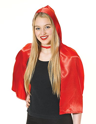 Bristol Novelty Red Riding Hood Cape Adult Costume - Women's - One Size