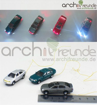 3-Stck-Modellauto-beleuchtet-LED-zu-Spur-H0