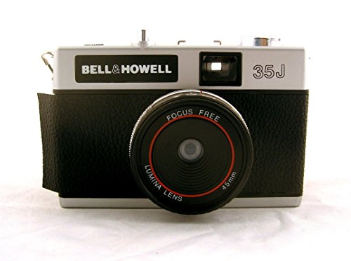 Bell & Howell 35j 35mm Film Camera with Focus Free 45mm Lumina Lens (35mm Film Camera, Classic Vintage Style) (35 Mm Camera Film compare prices)