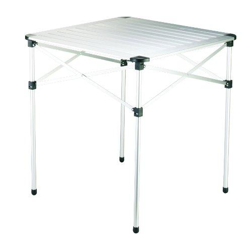 Grand Canyon Table, Camping-Tisch, faltbar, Aluminium, 70 x 70 x 70 cm, silber, 308005