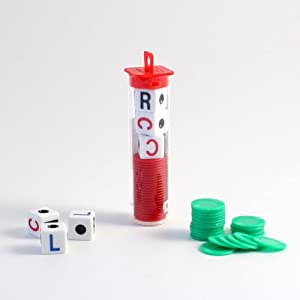 LCR - Left Center Right Dice Game - Random Color