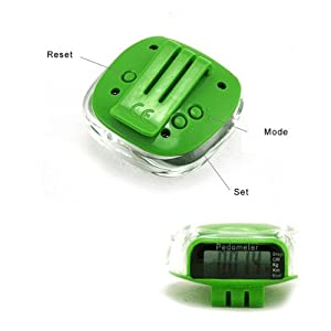 New Multi-function Pedometer Distance Calorie Counter with Belt Clip