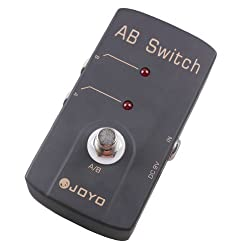 JOYO JF-30 A/B Switch Guitar Effect Pedal True Bypass AC Adapter DC 9V from JOYO