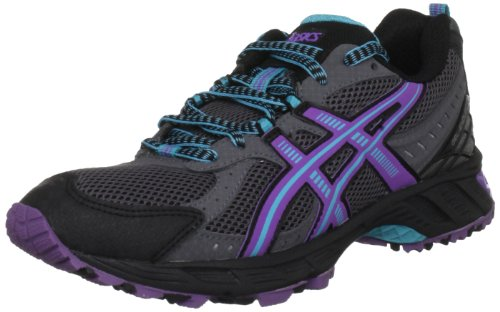 Asics Gel Enduro 8 Womens Carbon/Purple/Aqua