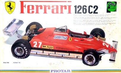 プロター1/12フェラーリ126C2