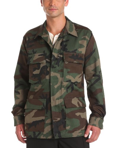 Propper Men's BDU Coat, Woodland