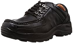 Action Mens Black Trekking and Hiking Boots - 9 UK (DCE-122)