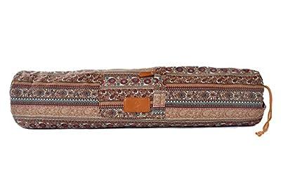 Yogatasche »VikramÂ« von #DoYourYoga aus hochwertigem Canvas (Segeltuch), aufwendig verarbeitet, für Yoga- und Pilatesmatten bis zu einer Größe von 186 x 63 x 0,6 cm, in 12 wunderschönen Edel-Designs erhältlich.