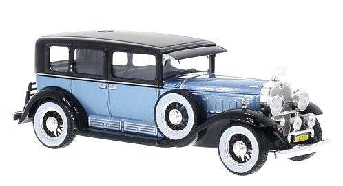 1930-cadillac-v16-whitebox-wb028-metallic-blue-black-143-die-cast