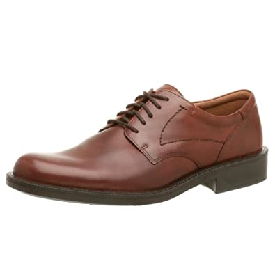ECCO Men's New City Light Plain Toe Oxford,Rust,45 EU (US Men's 11-11.5 M)