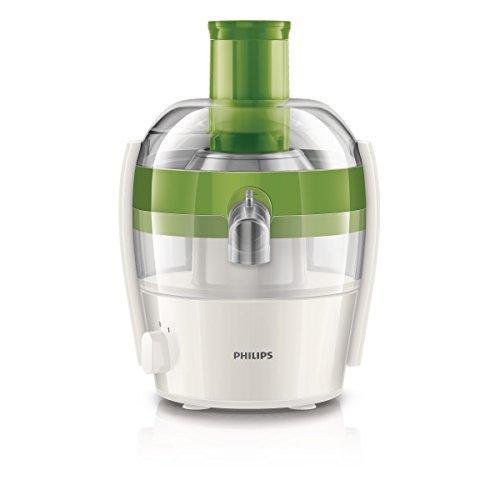 Philips HR1832/30 Viva Collection Centrifuga per Frutta e Verdura dal Design Compatto, con QuickClean Pulisci Facile, Verde
