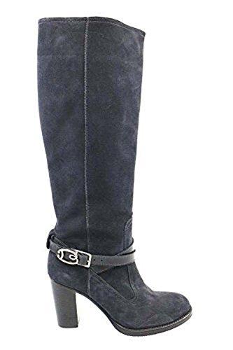 Scarpe donna BRACCIALINI 37 stivali grigio camoscio AP981-C