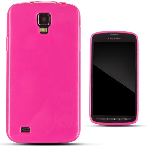 Zooky® Pink Tpu Classic Case / Cover / Shell For Samsung Galaxy S4 Active (I9295)