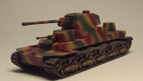 日本 120t戦車 オイ車(実車形状不明) 1/144 塗装済み完成品 Japan 120-Ton Tank O-I 1/144 Painted finished goods