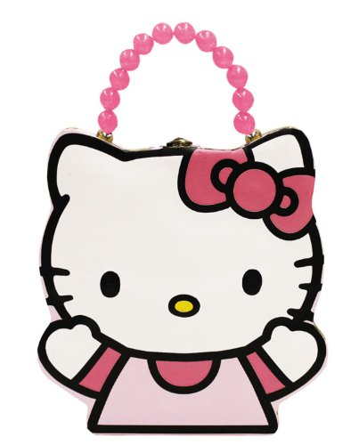 Hello Kitty Tin Purse Lunch Box front-898345