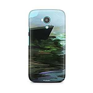 Motivatebox - Moto E2 (2nd Generation) Back Cover - Painted Valley Polycarbonate 3D Hard case protective back cover. Premium Quality designer Printed 3D Matte finish hard case back cover.