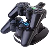 CE Compass USB Charger Charging Station for Sony PS3 Controller
