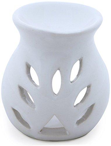 souvnear-97-cm-essential-oil-diffuser-oil-warmer-oil-burner-aromatherapy-fragrance-ceramic-tealight-