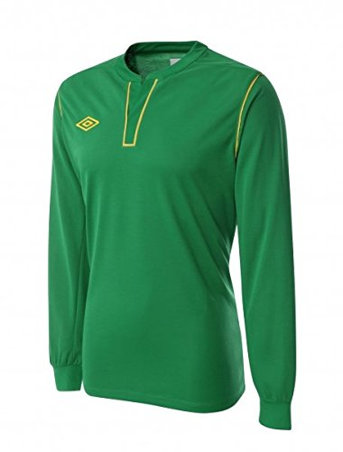 Umbro-Maglietta da calcio Cosmos LS JERSEY, Green, XXL