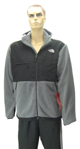 The North Face Mens Denali Style: AMYM-MA9, Grey Heather/TNF Black, Size: XXL