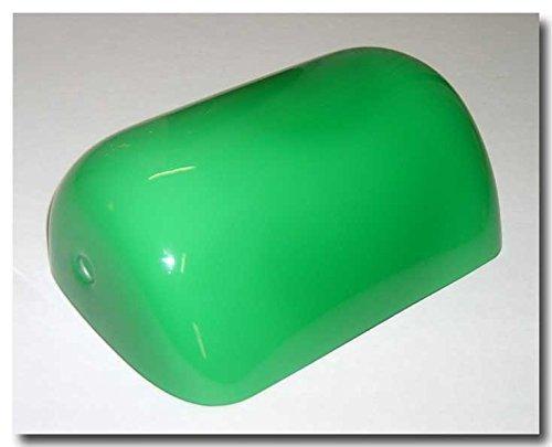 Vetro Paralume ricambio lampada ministero colore verde interno opaline bianco
