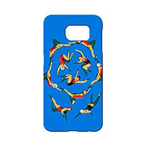 BLUEDIO Designer 3D Printed Back case cover for Samsung Galaxy S6 - G3818