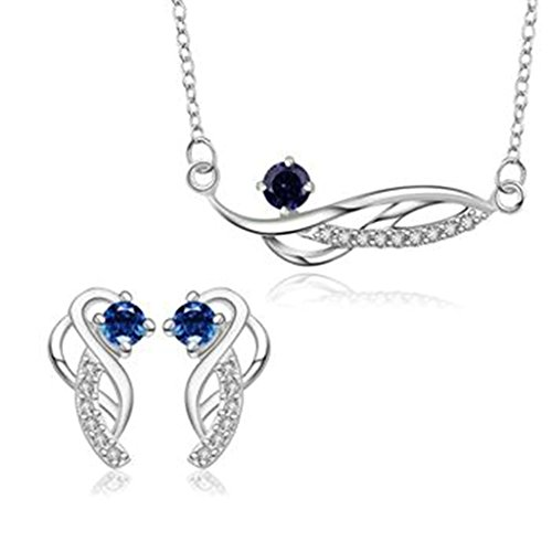 amdxd-jewelry-silver-plated-women-jewelry-sets-special-design-blue-cz-necklace-earrings