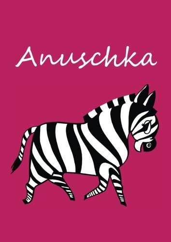 anuschka-individualisiertes-malbuch-notizbuch-tagebuch-zebra-a4-blanko