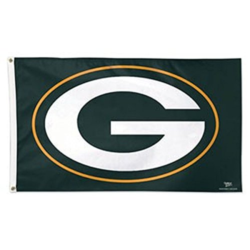 NFL Green Bay Packers 01751215 Deluxe Flag, 3' x 5'