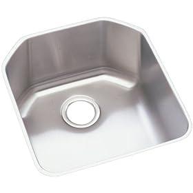 Elkay ELUH1618 Harmony Lustertone Undermount Sink, Stainless Steel