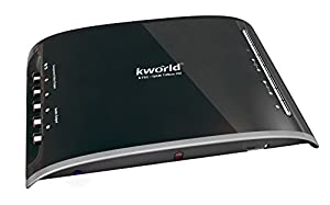 Kworld HDmi Dvi VGA Qam/atsc External Digital Tv Tuner Box Hdtv