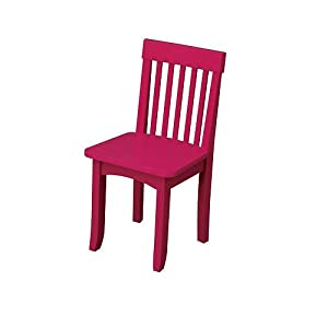 Toy / Game Kidkraft Avalon Durable Wooden Chair - Rasberry - Provides A Convenient & Comfortable Place For Kids by 4KIDS