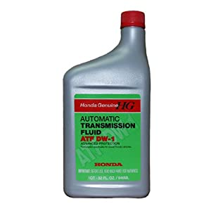 1 QUART of Honda Genuine DW-1 Automatic Transmission Fluid