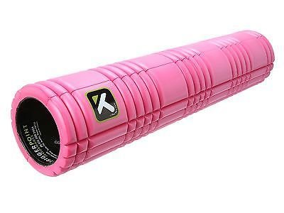 The GRID 2.0 Foam Roller EVA グリッドフォームローラー ロング 66cm 【オレンジ/黒/ピンク/ライム】 (ピンク) [並行輸入品]
