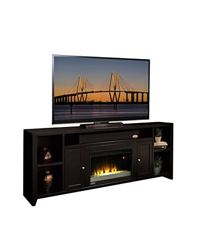 Legends Furniture Urban Loft 85″ Super Fireplace Console, Mocha