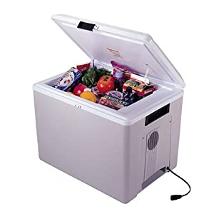 Koolatron P75 36-Quart Kool Kaddy Electric Cooler Warmer, Light Grey by Koolatron