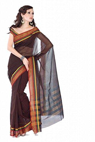 ISHIN Cotton Multicolor Sarees Saajan