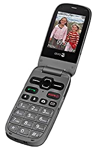 Doro PhoneEasy 621 UK Sim Free Mobile Phone - Black/Graphite