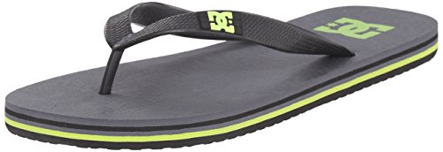 DC Spray Sandal, Grey/Yellow, 9 M US