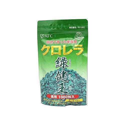 クロレラ緑健王1000粒