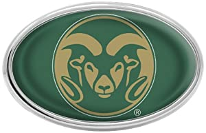 Buy NCAA Colorado State Rams Chrome Auto Emblem by Stockdale