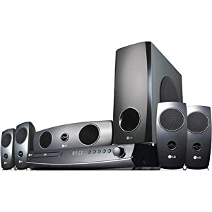 LG LHT854 1000-Watt DVD Disc Home Theater In a Box (2009 Model)