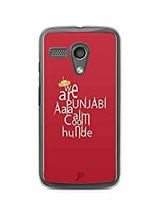 YuBingo We are Punjabi Designer Mobile Case Back Cover for Motorola G