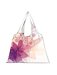 Snoogg High Strength Reusable Shopping Bag Fashion Style Grocery Tote Bag Jhola Bag - B01B97HG5E