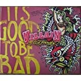 Villain By Ed Hardy 4 PC Set in Gift Box 4.2 Oz EDP, .25 Oz EDP, 3 Oz Shimmering Body Lotion, 6 Oz Body Spray / IT'S GOOD TO BE BAD
